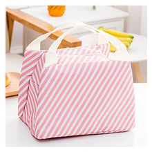 Load image into Gallery viewer, Portable Insulated Canvas Lunch Bag