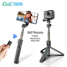 Load image into Gallery viewer, High quality Wireless bluetooth Selfie Stick Tripod With Remote