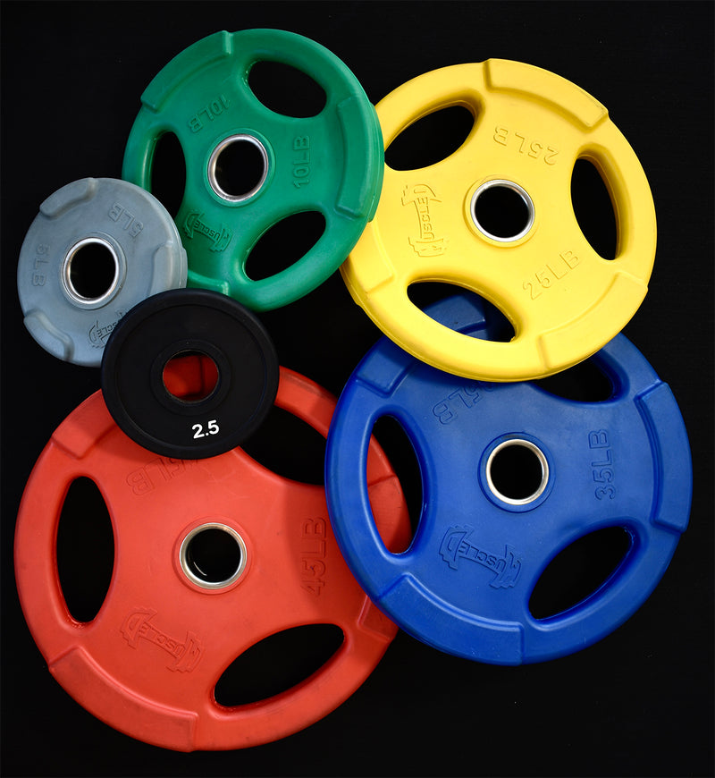 Rubber Colored Grip Plates
