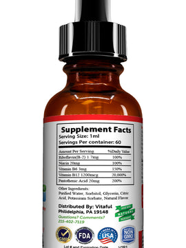 Vitamin B12 Complex - Liquid Sublingual Drops