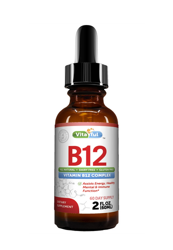 Vitaful - Vitamin B12 Complex Liquid Sublingual Drops