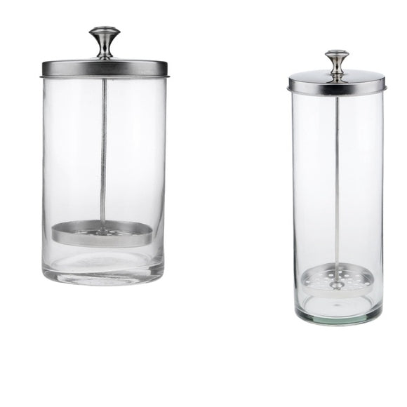 Sanitizer Disinfectant Glass Jar