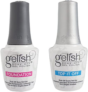 Gelish Soak-Off Top & Foundation
