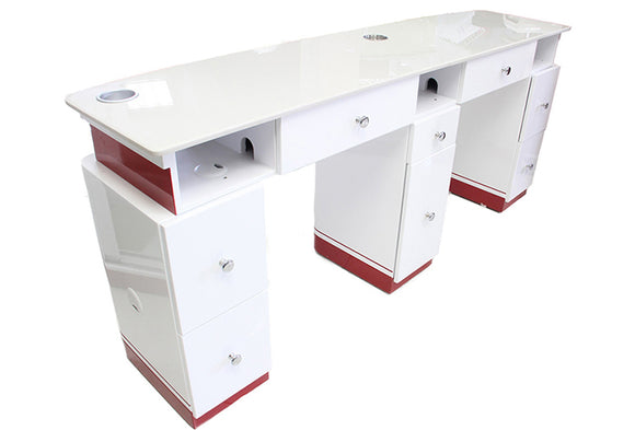 MIC Double Manicure Salon Table