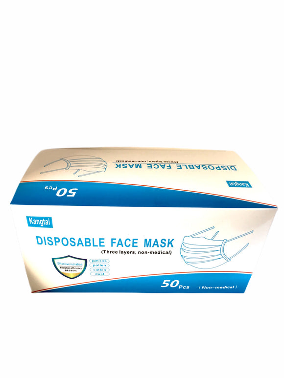 Disposable Face Mask - 3 Layer