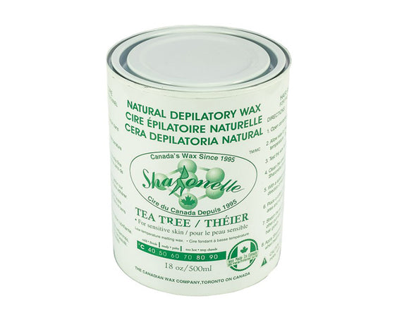 Sharonelle Soft Wax All Purpose Natural Depilatory Canned Wax