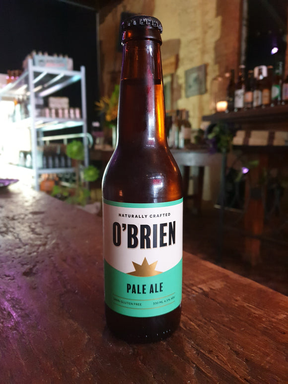 O'Briens Pale Ale GF Stub 330ml 4.5%