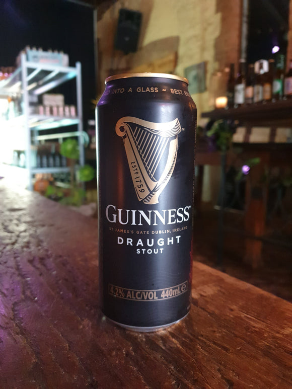 Guinness Can 440ml 4.1%