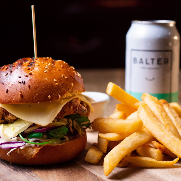 Tuesday Special - Burger & Balter XPA Beer