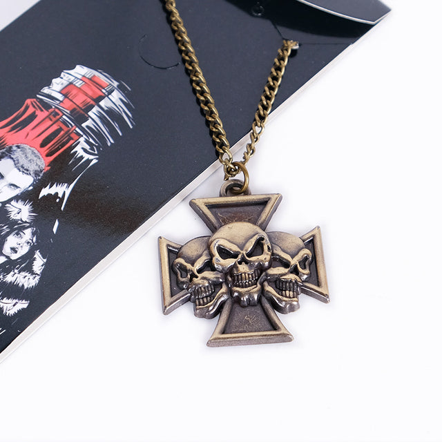 Sons of Anarchy Skull Necklace - Kairo'sElixir