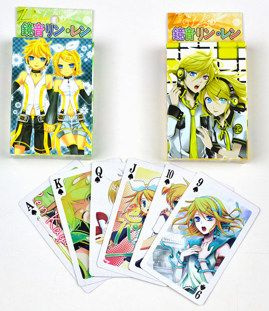 Kagamine Mini Playing Cards - Kairo'sElixir