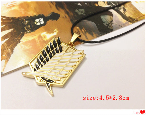 Attack on Titan Survey Corps (Gold) Necklace