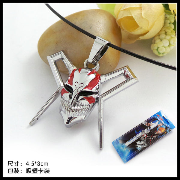 Bleach Ichigo Vasto Lorde Mask Necklace