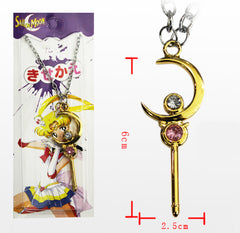 Sailor Moon Moon Stick Necklace