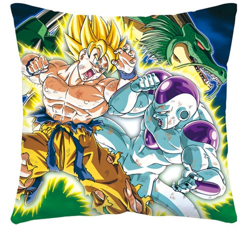 DBZ Goku VS Frieza Throw Pillow - Kairo'sElixir
