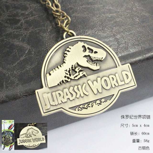 Jurassic World Necklace - Kairo'sElixir