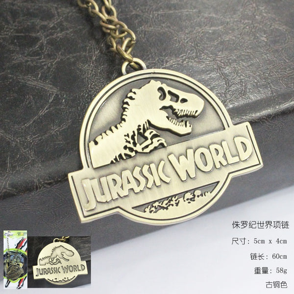 Jurassic World Necklace