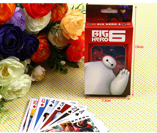 Big Hero 6 Playing Cards