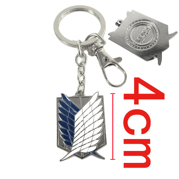Attack on Titan Survey Corps Key Chain - Kairo'sElixir