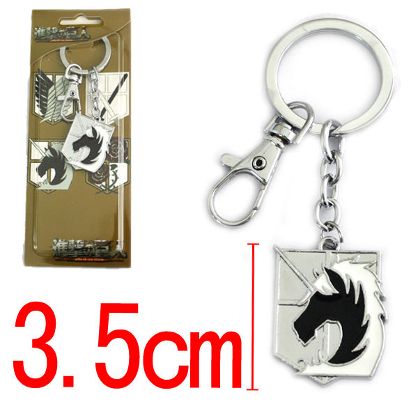 Attack On Titan Military Police Key Chain - Kairo'sElixir
