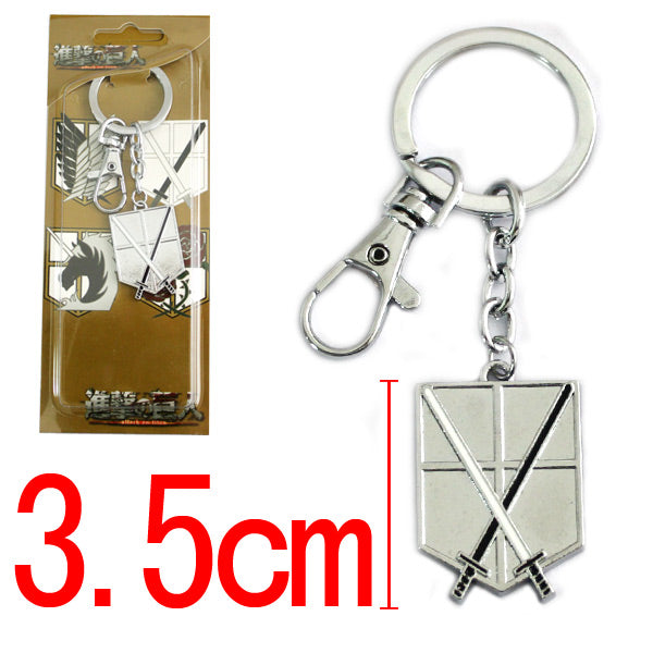 Attack On Titan Trainee Corps Key Chain - Kairo'sElixir