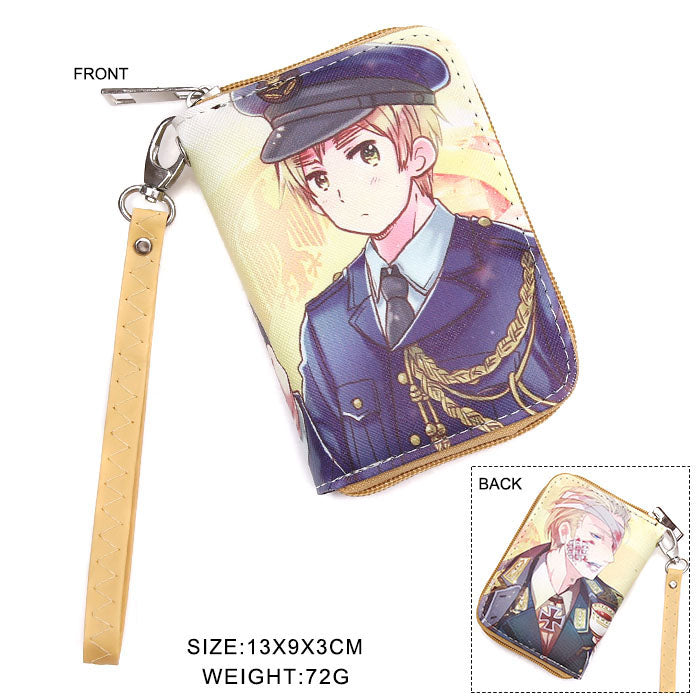Hetalia: Axis Powers England & Germany Zipper Wallet
