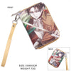 Attack On Titan Levi/Mikasa Zipper Wallet