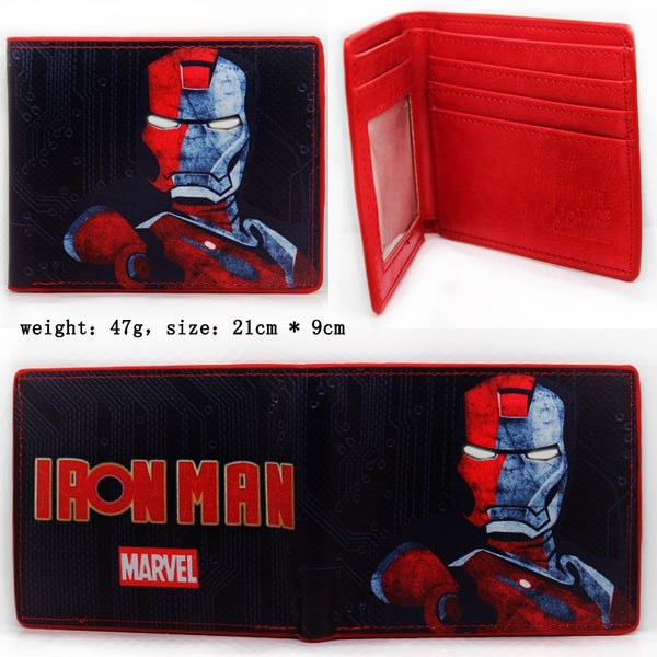 Iron Man Wallet - Kairo'sElixir