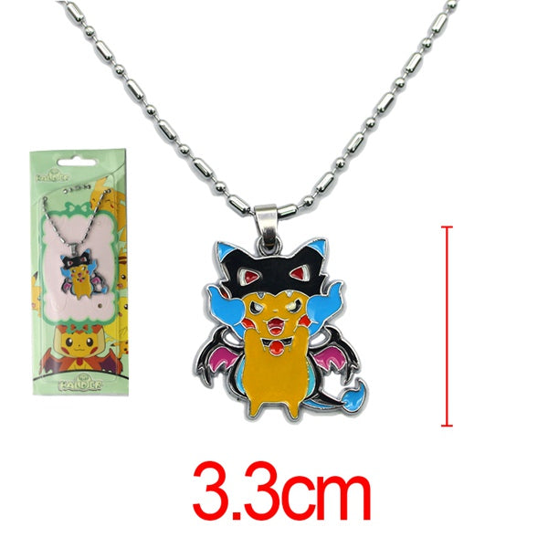 Pokemon PikachuXCharizard Mega Necklace