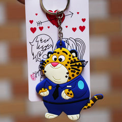 Zootopia Officer Clawhauser Key Chain