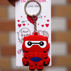 Big Hero 6 Baymax Armor Key Chain