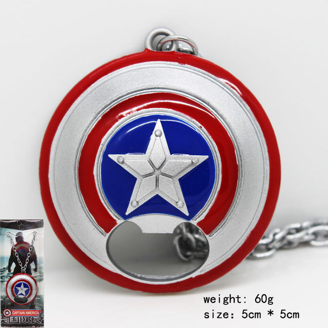 Captain America Shield Necklace