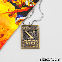 One Piece Wanted Nami Necklace