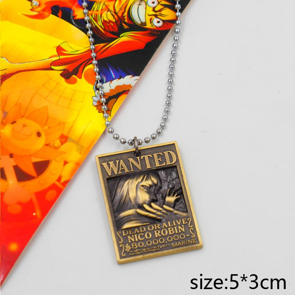 One Piece Wanted Robin Necklace