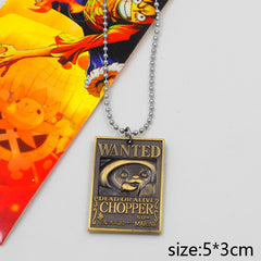 One Piece Wanted Chopper Necklace