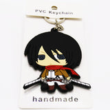 Attack On Titan Mikasa L Key Chain - Kairo'sElixir