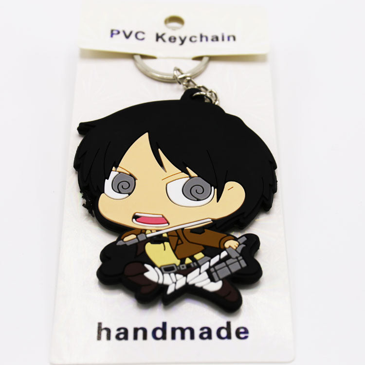 Attack On Titan Eren L Key Chain