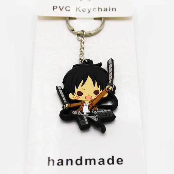 Attack On Titan Eren Key Chain - Kairo'sElixir