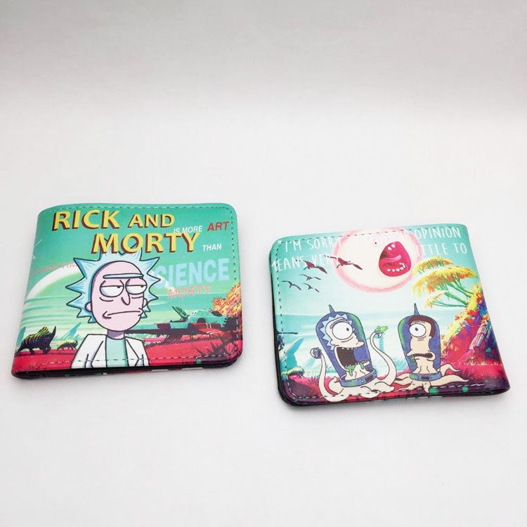 Rick & Morty Alien Wallet
