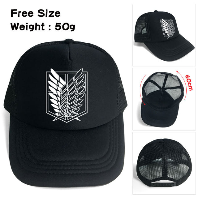 Attack on Titan Survey Corps v.1 Hat - Kairo'sElixir