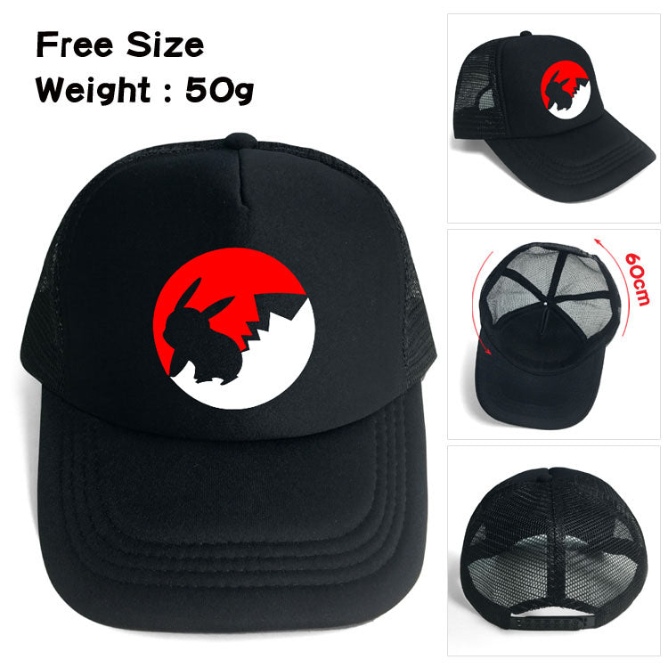 Pokemon Pikachu Pokeball Dash Hat