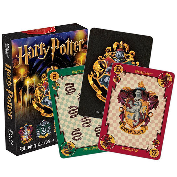 Harry Potter Houses Playing Cards