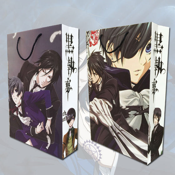 Black Butler Gift Bag