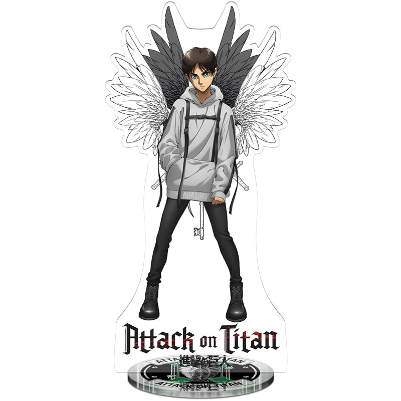 Attack On Titan Eren Survey Corps Acrylic Figure