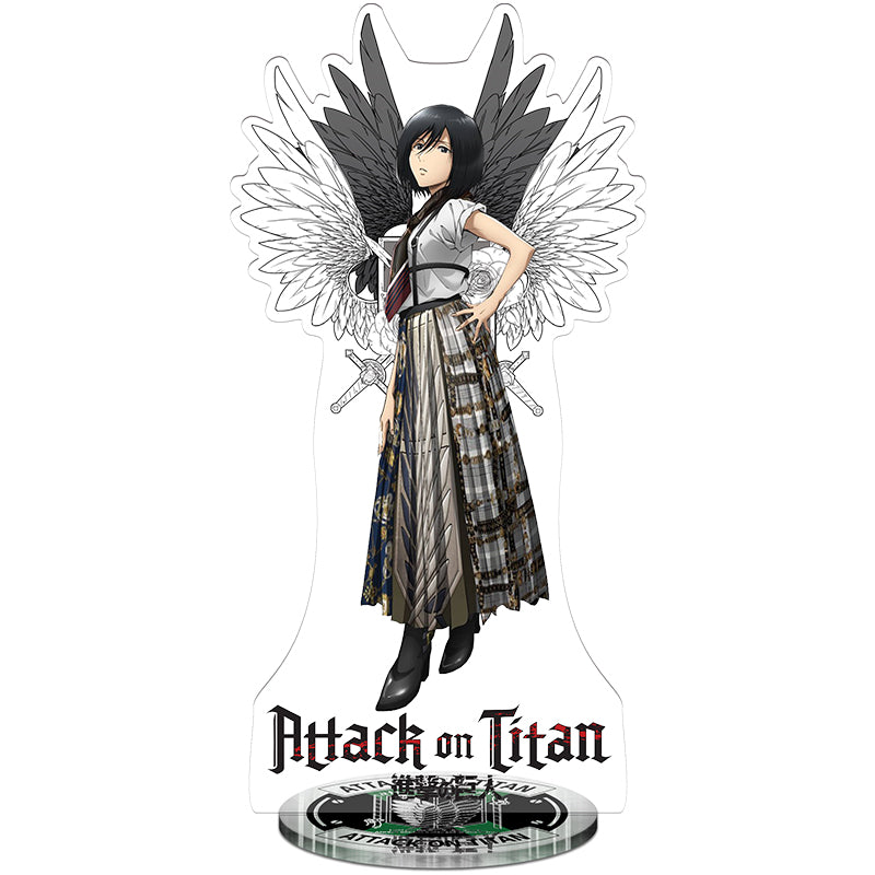 Attack On Titan Mikasa Survey Corps Acrylic Figure - Kairo'sElixir