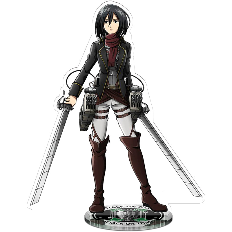 Attack On Titan Mikasa Blade Acrylic Figure
