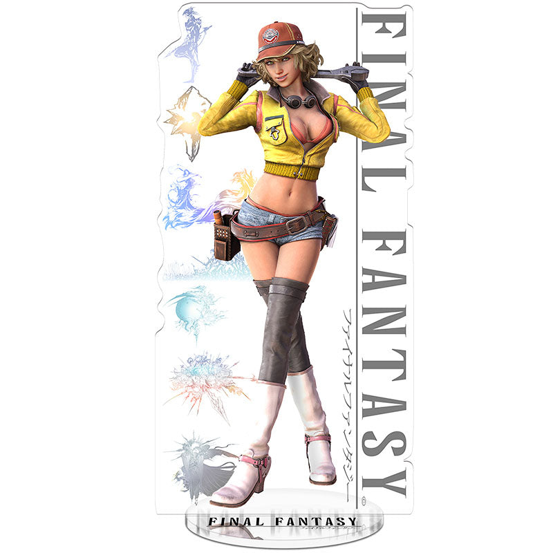 Final Fantasy 15 Cindy Acrylic Figure