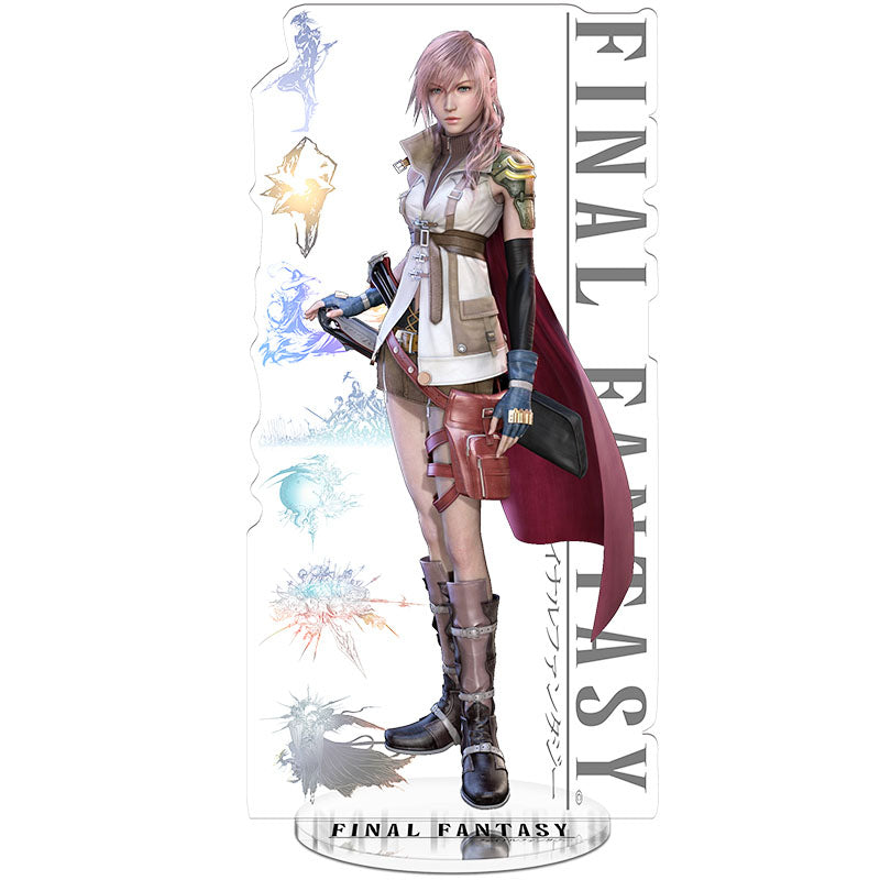 Final Fantasy 13  Lightning Acrylic Figure