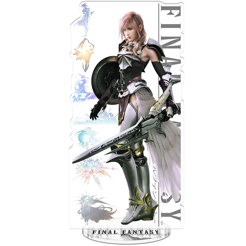 Final Fantasy 13 Weaponed Lightning Acrylic Figure