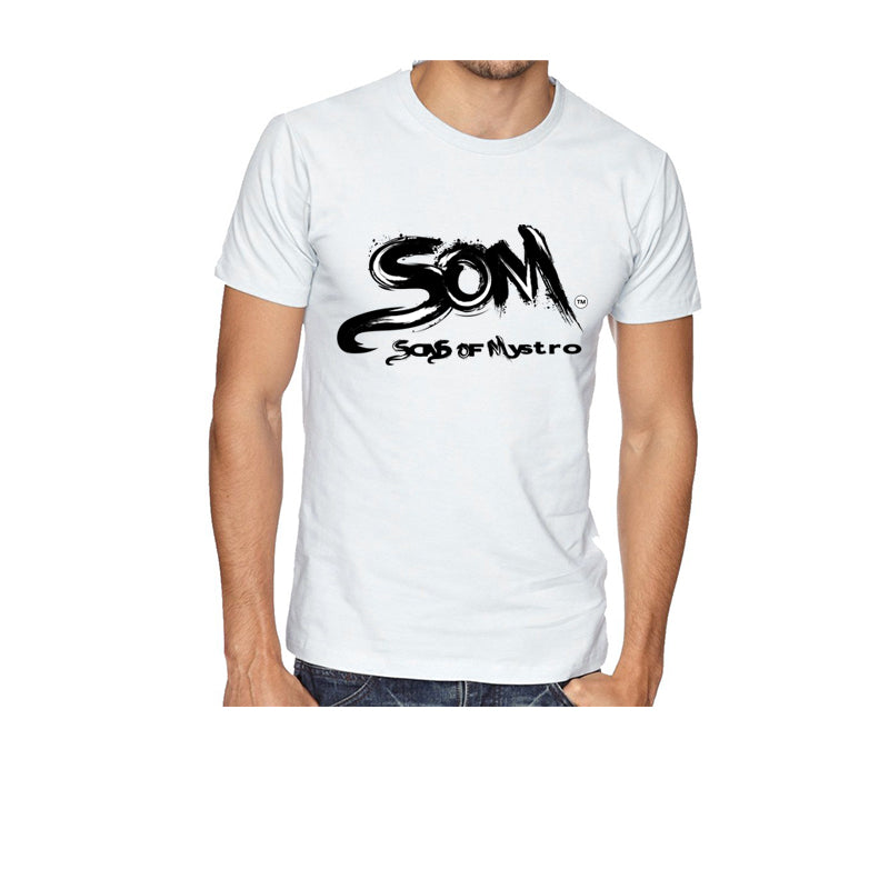 SONS OF MYSTRO LOGO TEE - WHITE